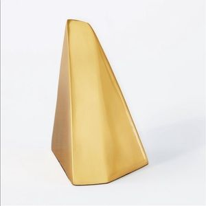 Threshold Gold Bookends